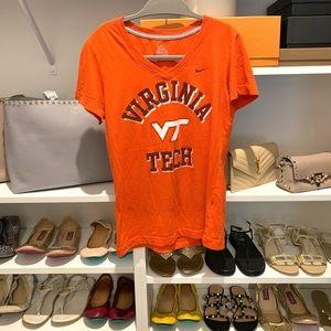 Virginia Tech Sporty Tank Tee M Top Shirt Orange